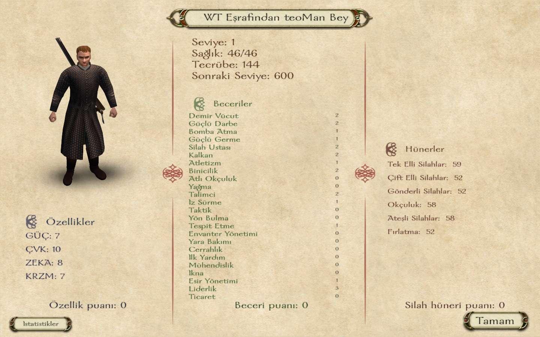 Mount & Blade - Ateş & Kılıç v1.140 ve Kurulumsuz - Türkçe indir