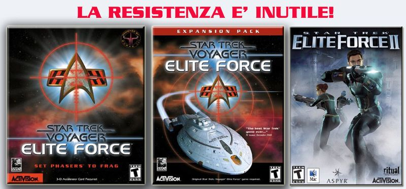 [ITA   ENG   4 CD   PC]Star Trek Elite Force 1 and 2 + Expansion pack preview 0
