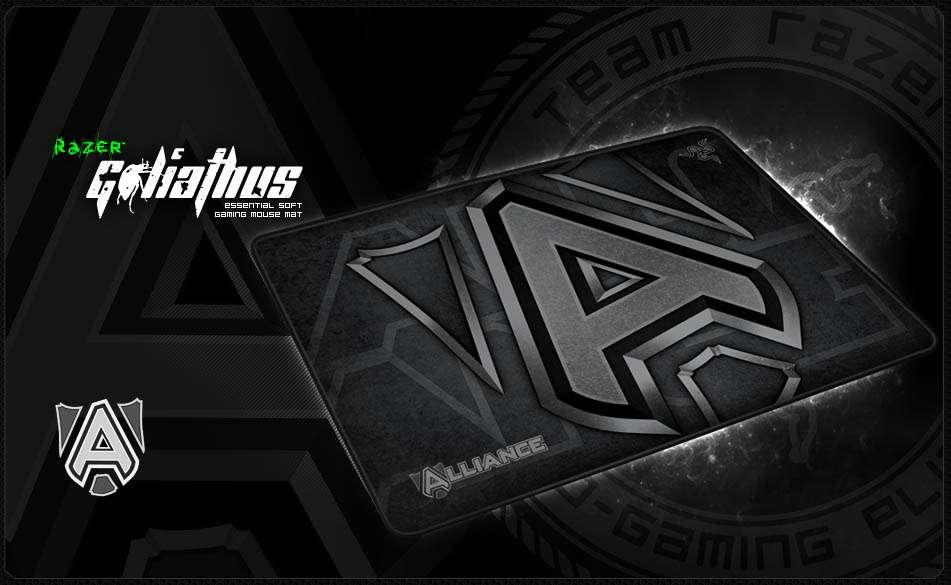 Mouse Pad Razer Goliathus 2013 Team Alliance - Med