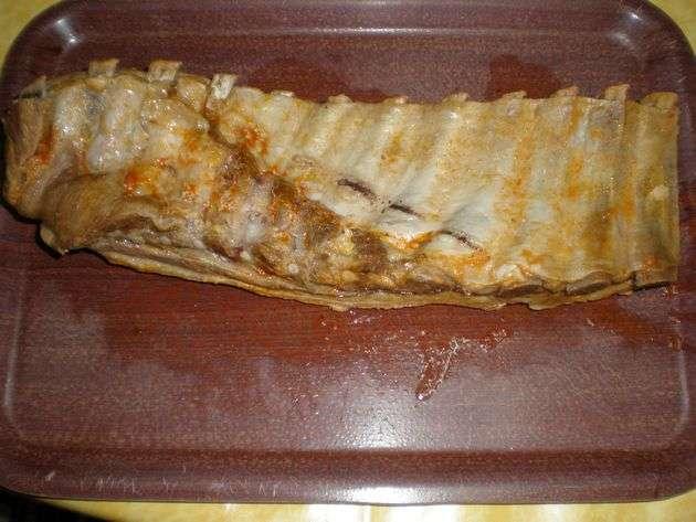 costillarentero - Costillas de cerdo, hervidas con tomate