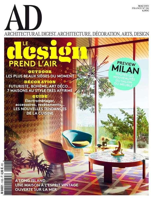 Architectural Digest N°116 Mai 2013