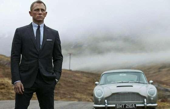 James Bond 007 Aston Martin DB5 Skyfall