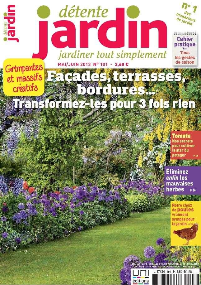 Détente Jardin N°101 Mai Juin 2013