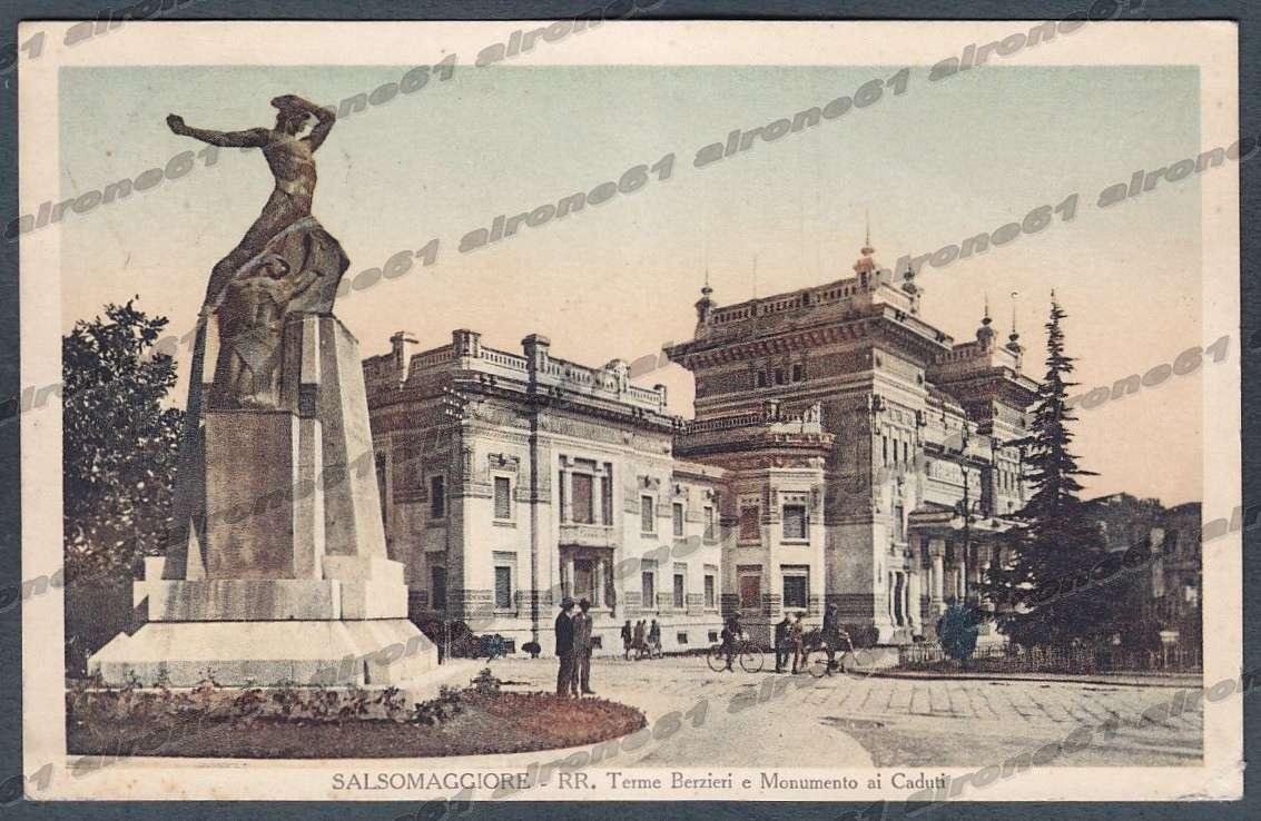 Vendita Tende Da Sole Parma dettagli su parma salsomaggiore terme 126 monumento ai caduti cartolina  viaggiata 1929