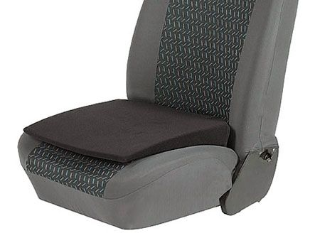 SEAT SUPPORT WEDGE HEIGHT BOOSTER CUSHION SIZE