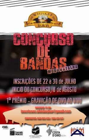 Concurso Bandas Whiskey Bar