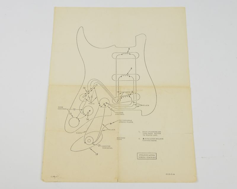 stratocaster wiring diagram 1960 full wiring diagram 1960 austin healey vintage 1950's 1960's fender stratocaster strat wiring ... #3